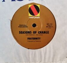 45rpm single - Fraternity - Seasons Of Change/Sommerville (Exc)