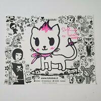 Signed Simone Legno Tokidoki Drawing PunkStar Cat Rolly || Kona / NYCC Comic Con