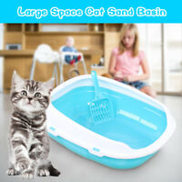 Cat Puppy Dog Pet Toilet Potty Litter Plastic Open Training Tray Waste Boxes UK