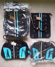 Wholesale Lot (10 Pcs.) Tokyo Bay Black Canvas Crossbody & Overnight/Travel Bags