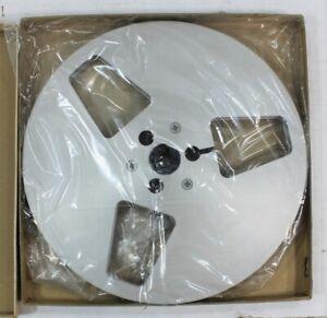 "Meister Metal 7"" Take Up Reel-To-Reel Silver Aluminum 3 Window"