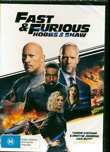 Fast Furious Hobbs Shaw DVD Region 4 NEW Dwayne Johnson Jason Statham
