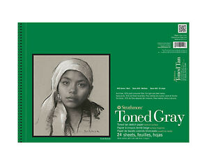 Strathmore Toned Gray Sketch Pad 18X24