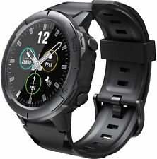 Arbily Fitness Tracker Black Waterproof Smart Watch with Touch Screen