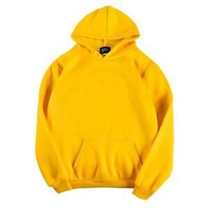 Women's Ladies Hoodies Hooded Oversize Jumper Loose Long Sweatshirt Sleeve Plain