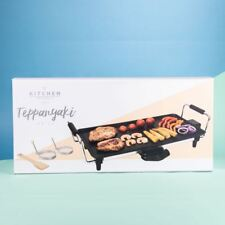 Electric Teppanyaki Grill Table Top Griddle BBQ Hot Plate
