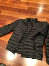 Patagonia Men's Down Sweater Jacket, Black, Size Small (S)