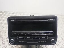 525539 CD-radio sin código VW Touran II (1t3) 2.0 TDI