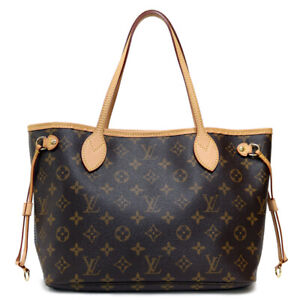 LOUIS VUITTON Tote Bag M41245 Monogram canvas Monogram Never full PM from japan