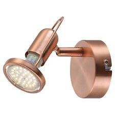 Globo 54383-1 Anne Projecteur à LED Matte de Cuivre Gu10 LED