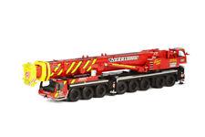 """LIEBHERR LTM 1500-8.1 """"NEEB & SCHUCH"""" MOBILE CRANE RED 1/50 WSI MODELS 01-1626"""