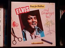 Elvis Presley ♫ Sings for Children And Grownups Too ♫ RARE OG LP NM Cover w/Card
