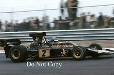 Ronnie Peterson JPS Lotus Dutch GP 1973 Photograph 2