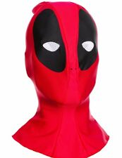Deadpool Costume Mask Authentic Deluxe Adult Dead Pool Mens Marvel - Fast Ship -