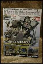 Klassik Motorrad 1/09 Kompressor NSU Honda Dax Egli Duc