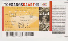 Sammler Used Ticket / Entrada PSV Eindhoven v NEC Nijmegen 20-08-2006