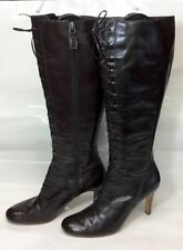 Marks and Spencer Slim 100% Leather Boots for Women