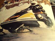 1974 Vintage SKI DOO Snowmobile Brochure TNT