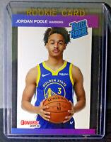 Jordan Poole 2019-2020 Panini NBA Instant Rated Rookie Retro Card