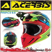 Acerbis 0022098.323 Cross Casque thermoplastique Profile 3.0 Snapdragon FR M