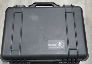 Pelican 1500 Hard Protector Case - Black