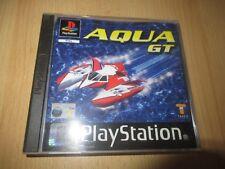 Aqua GT PS1 PlayStation 1 PAL mint collectors