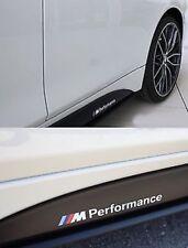 2X BMW M Performance M Sport Side Skirt Decal Sticker Vinyl   Premium Item HQ+
