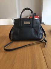 DKNY Handbag Grey Leather 100%