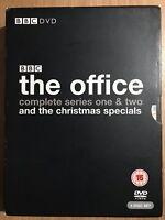 The Office Season 1 + 2 + Specials DVD Box Set Original BBC Series Complete