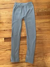 connection 18 , womans grey leggings , size small, zippers on the sides