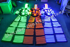 2016 LED Robot Costume Illuminated Suits - Premium with Laser Gloves Included!