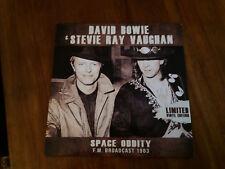 DISCO 33 giri -  David Bowie & Stevie Ray Vaughan – Space Oddity LIMITED ED