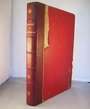 LA FRANCE ET SES COLONIES T1 / EN FRANCE / ONESIME RECLUS / REL. 1/2 CUIR 1887