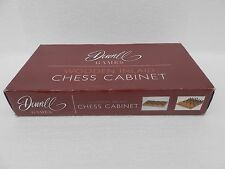 Deverell Games ~ Wooden Inlaid Chess Cabinet