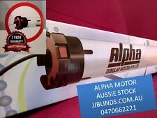 Alphatubular  motor for indoor and outdoor blinds from $220 cbus mechanicalmotor