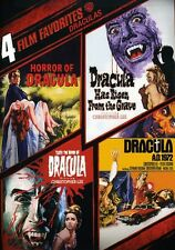 Draculas: 4 Film Favorites [2 Discs] (2009, DVD NEW)