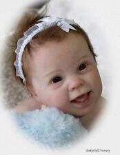 "NEW! Reborn 10 Month ~ Baby Kenzie ~ 25"" Vinyl Doll Parts Kit by Donna RuBert"