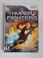 Hyper Fighters Game in Case! Nintendo Wii