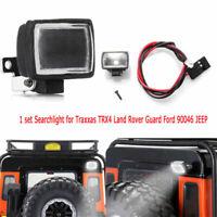 1 Satz Licht Suchscheinwerfer für Traxxas TRX4 Land Rover Guard Ford 90046 JEEP