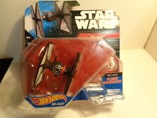 HOT WHEELS, DISNEY  STAR WARS TIE FIGHTER,   NEW PACK 1:64 SCALE  5- 56-14