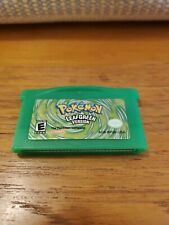 Pokemon: Leaf Green Version - USA (Game Boy Advance, 2004) - GBA - AUTHENTIC