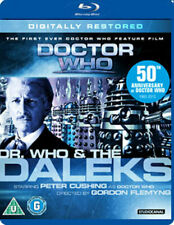 Doctor Who and The Daleks Blu-ray DVD Region 2