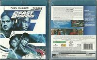 BLU RAY - 2 FAST 2 FURIOUS avec PAUL WALKER, EVA MENDES NEUF EMBALLE NEW SEALED