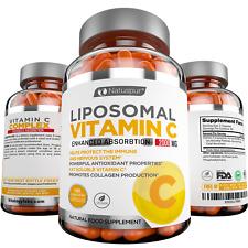 Premium Liposomal Vitamin C 2000mg -  Supports Healthy Immune System Functions
