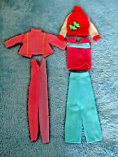 """Barbie Doll 11&1/2 """" (Clothes Only) & pair of shoes """"Excellent Condition"""" Pics"""