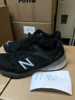 MEN'S NEW BALANCE M990BK5 BLACK RUNNING ACTIVE  SHOE MADE IN USA  size 12.5 D
