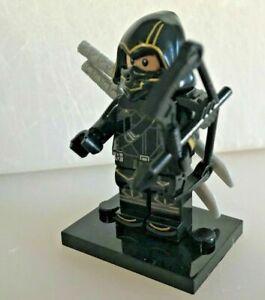 CUSTOM MINI FIGURINES COMPATIBLE LEGO SERIE MARVEL AVENGERS OEIL FAUCON HAWKEYE
