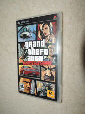 Grand Theft Auto: Liberty City Stories (Playstation PSP, 2005) w/ Case