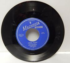 Bob Grabeau 45 RPM Record Angel Town & Charge Magnolia Records Made In The USA