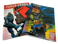 Batman Judge Dredd Judgement On Gotham & Year Book Graphic Novel Comic Books